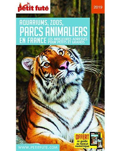 Guide des parcs animaliers 2019 petit fute+offre num