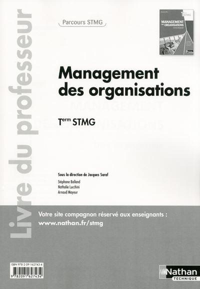 Management des organisations Term STMG