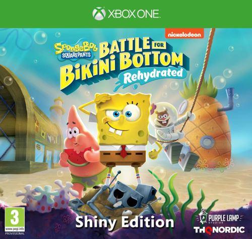 SpongeBob SquarePants Battle for Bikini Bottom Rehydrated Shiny Edition Xbox One