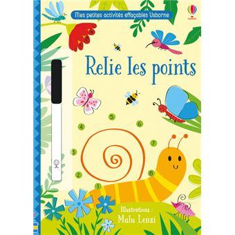Relie Les Points Mes Petites Activites Effacables Usborne