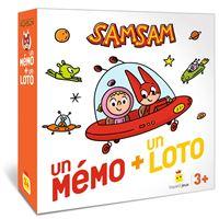 Jeu SamSam - Un mémo + un loto