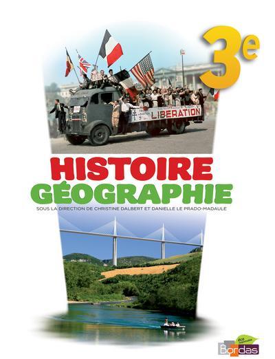 Histoire Géographie 3e 2012 Manuel de l'élève Grand format