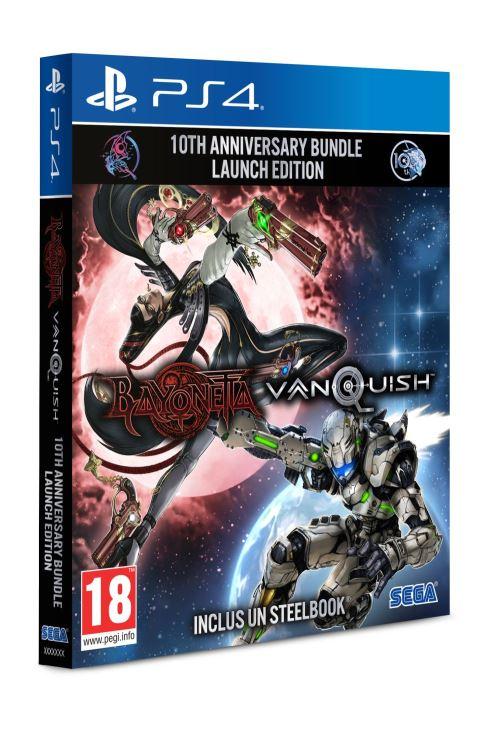 Bayonetta et Vanquish 10ème Anniversaire Bundle PS4