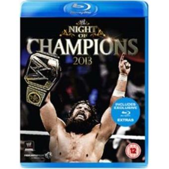 WWE Night of Champions 2013 Blu-ray