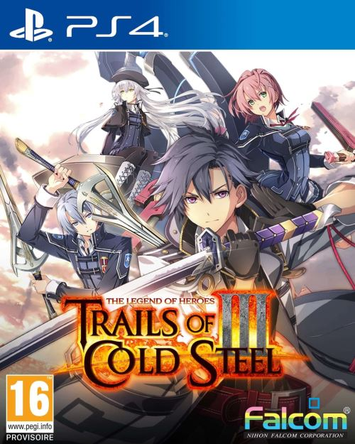 The Legend of Heroes Trails of Cold Steel III Edition Early Enrollment PS4