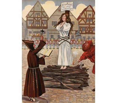 Carnet blanc : Jouons à l'histoire : Jeanne d'Arc