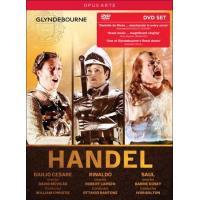 Händel : Giulio Cesare, Rinaldo, Saul (Glyndebourne) Coffret DVD