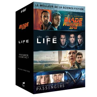 Coffret Le Meilleur de la science-fiction DVD
