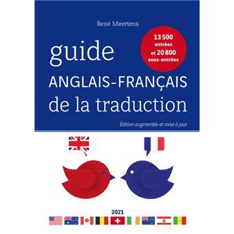 Guide anglais franþais de la traduction