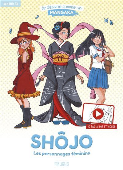 Shôjo : Les personnages féminins