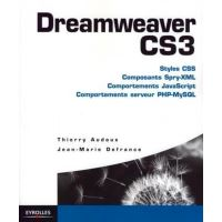 Dreamweaver cs3.styles css.composants spry-xml.comportementsjavascripts.comporte