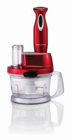 MRPY Robot Mixeur Morphy Richards M48919EE Red Accent
