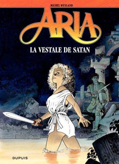 Aria – tome 17 – La vestale de Satan