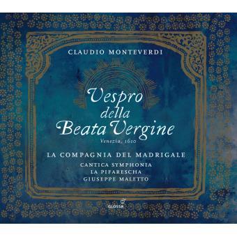 Vespro della beata vergine venezia 1610