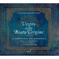 VESPRO DELLA BEATA VERGINE/2CD