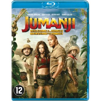 Jumanji:welcome to the jungle (UV)-BIL-BLURAY