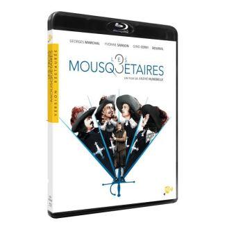Les trois mousquetaires d'Alexandre DumasLes Trois Mousquetaires Blu-ray