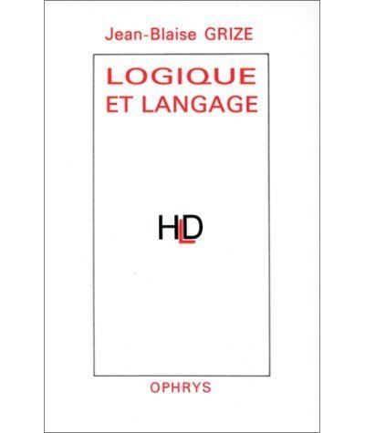 Logique et langage