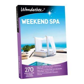 Coffret cadeau Wonderbox Weekend spa