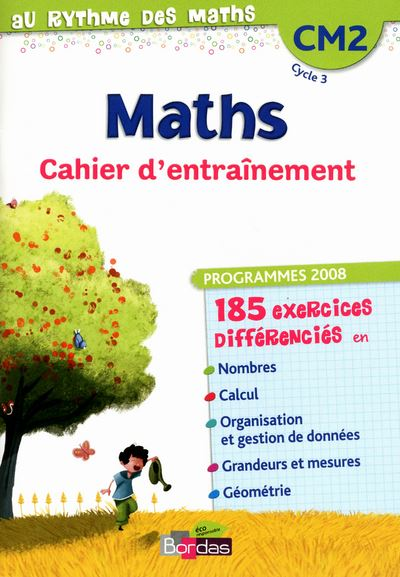 Au rythme des maths cm2 cahier