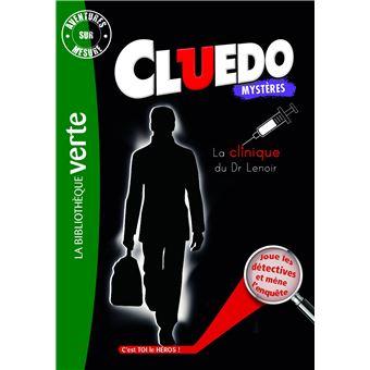 CluedoAventures sur mesure Cluedo 12 - La Clinique du Dr Lenoir