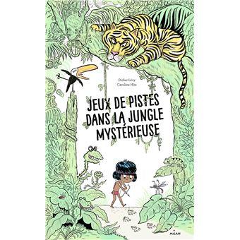 Jeux de pistes dans la jungle mystérieuse
