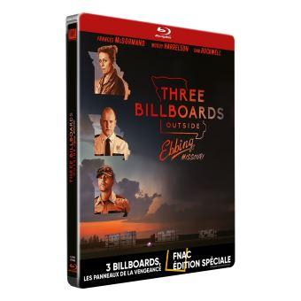 Vos Commandes et Achats [DVD/BR] - Page 3 3-Billboards-Les-panneaux-de-la-vengeance-Edition-Fnac-Steelbook-Blu-ray