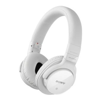 casque audio hifi sony sans fil blanc