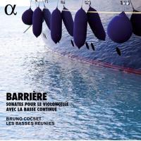 Barrière : Sonates pour le violoncelle avec la basse continue