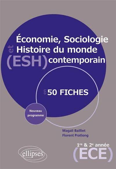 Economie, sociologie et histoire du monde contemporain ESH