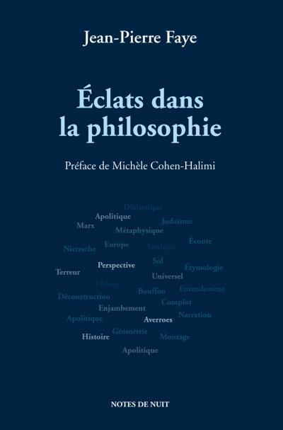 Éclats dans la philosophie