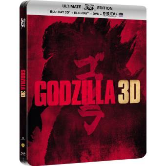 Godzilla, la trilogieGodzilla (2014) Blu-Ray 3D