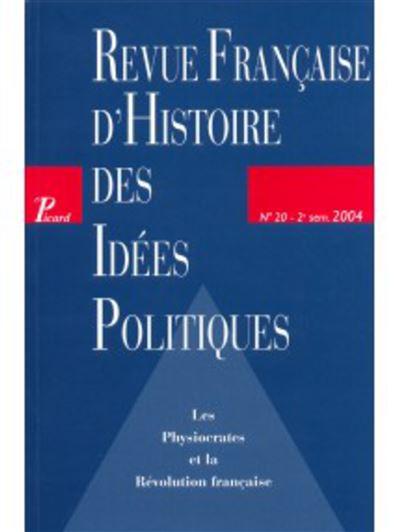 Les physiocrates et la Révolution française