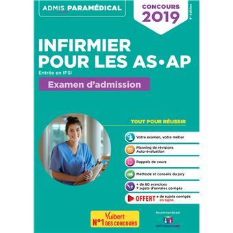 Concours Infirmier Pour Les As Ap Entree En Ifsi Examen D Admission Entree En Ifsi Examen D Admission Broche Isabelle Bisutti Achat Livre Fnac