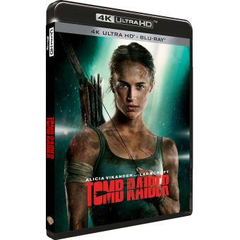 Lara Croft : Tomb RaiderTomb Raider Blu-ray 4K Ultra HD