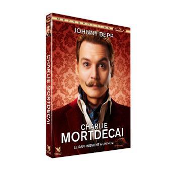 Charlie Mortdecai DVD