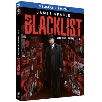 The BlacklistThe Blacklist Saisons 1 à 3 Coffret Blu-ray