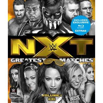 WWE NXT Greatest Matches Volume 1 Blu-ray