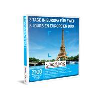 Coffret cadeau Smartbox 3 Jours en Europe en Duo