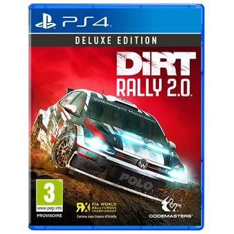 dirt rally 2 0 deluxe edition ps4 jeux vid o achat prix fnac. Black Bedroom Furniture Sets. Home Design Ideas