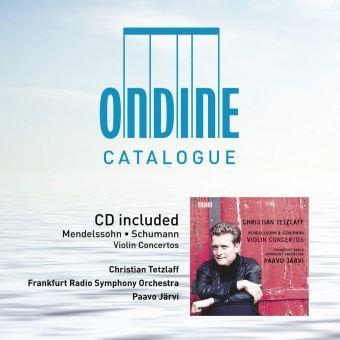 Concertos pour violon/cd catalogue