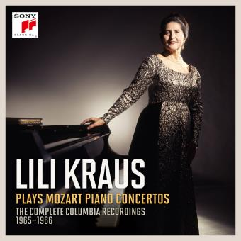 Lili Kraus plays Mozart Piano Concertos The Complete Columbia Recordings 1965-1966