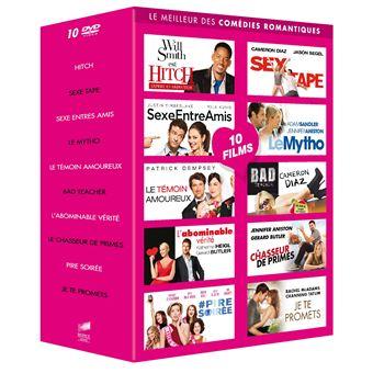 Coffret Le Meilleur des comédies romantiques DVD