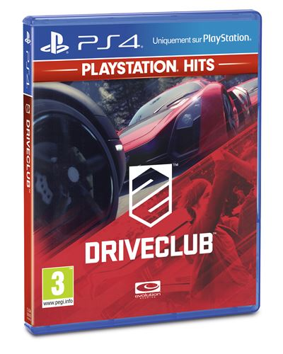 DriveClub PlayStation Hits PS4