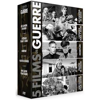Coffret 5 Films de guerre Hollywood Legends DVD