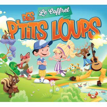 Le coffret des p'tits loups Inclus DVD