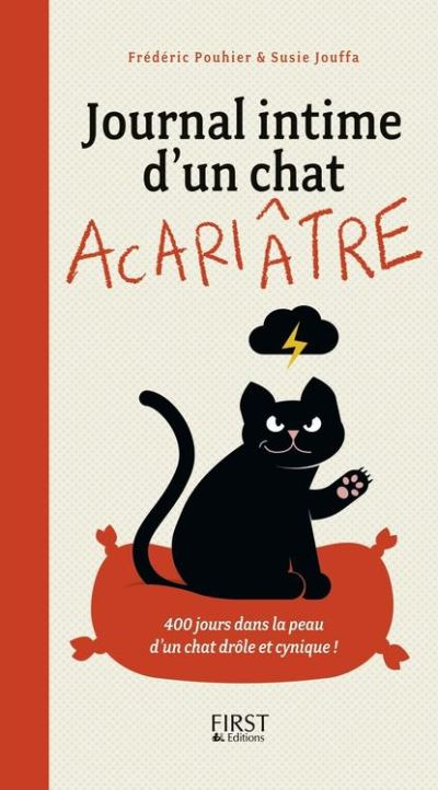 Journal intime d'un chat acariâtre - 9782754060110 - 5,99 €
