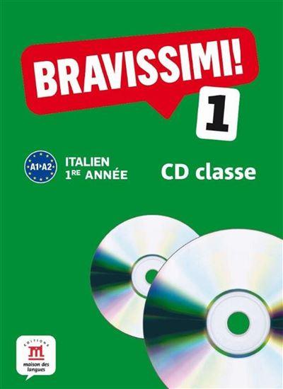 Bravissimi! 1 coffret 2 cd audio classe