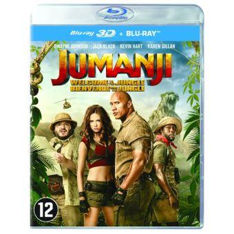 Jumanji:Welcome to the jungle (UV)-BIL-BLURAY 3D