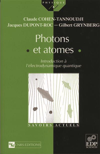 Photons et atomes